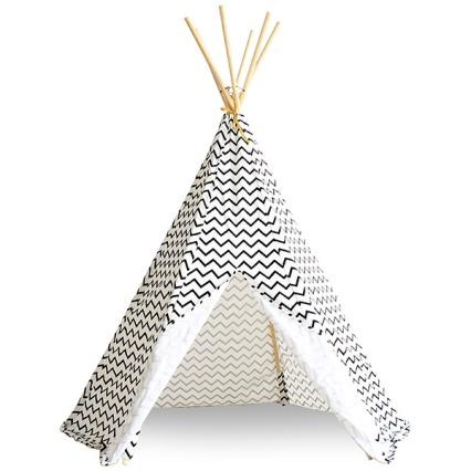 nobodinoz-tipi-tent-arizona-zigzag-zwart-600x600