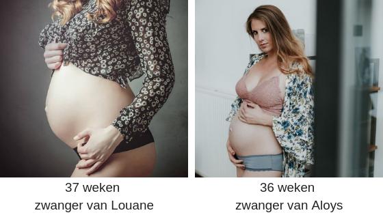 28 weken zwanger van Louane(2)