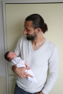 Papa en zijn zoon <3